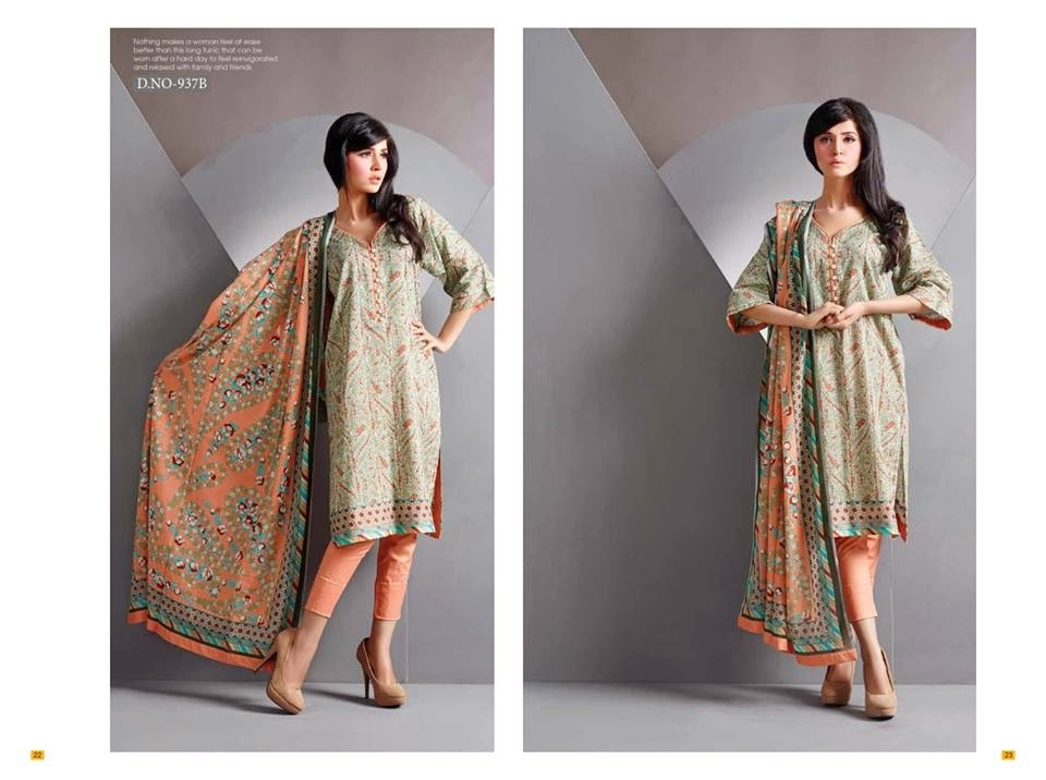 Swiss voil lawn suits 2015