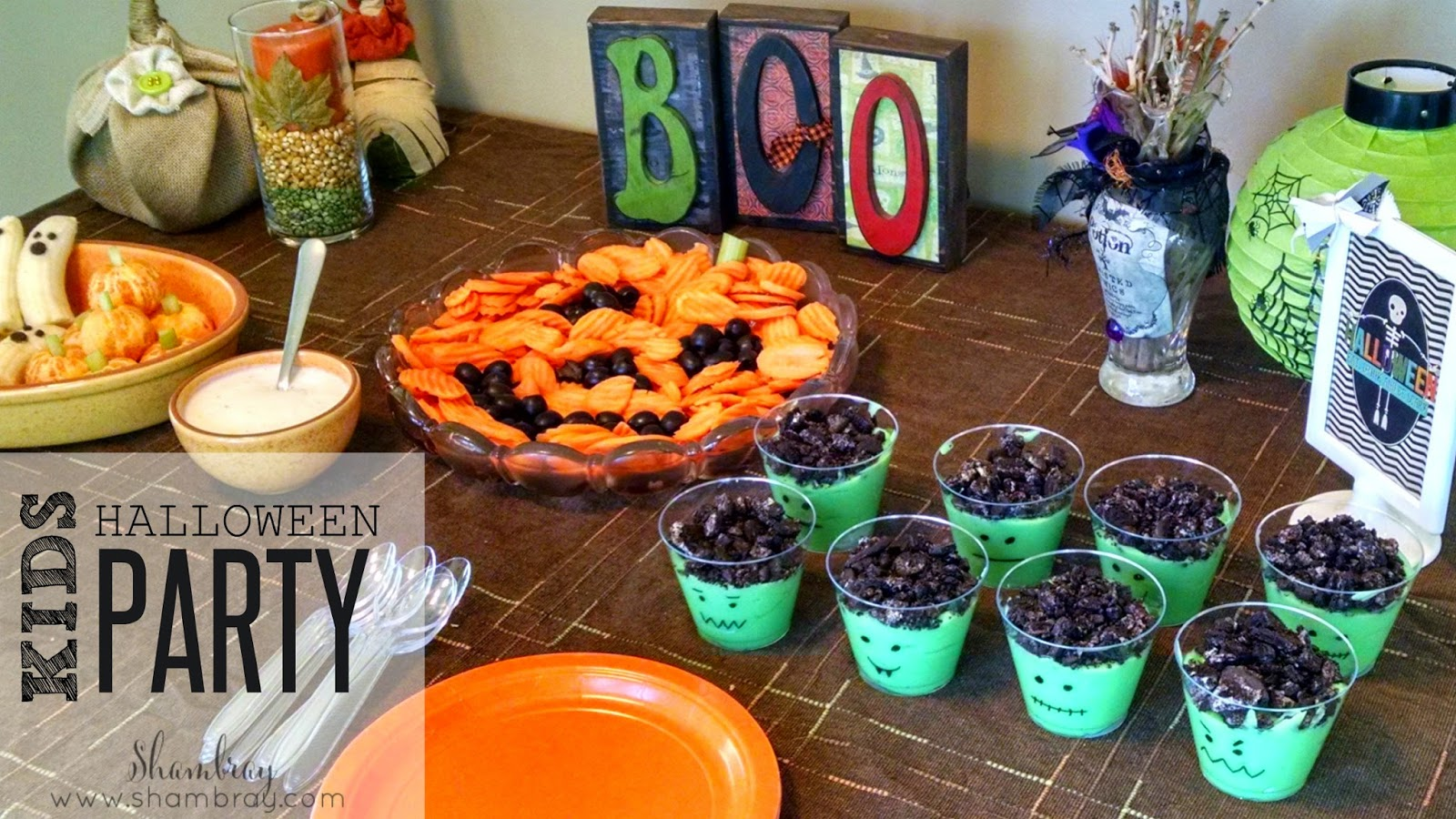 shambray: kids halloween party