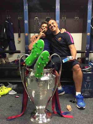 gerard pique piala champions 2015