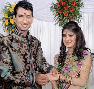 Cheteshwar-Pujara-Engagement