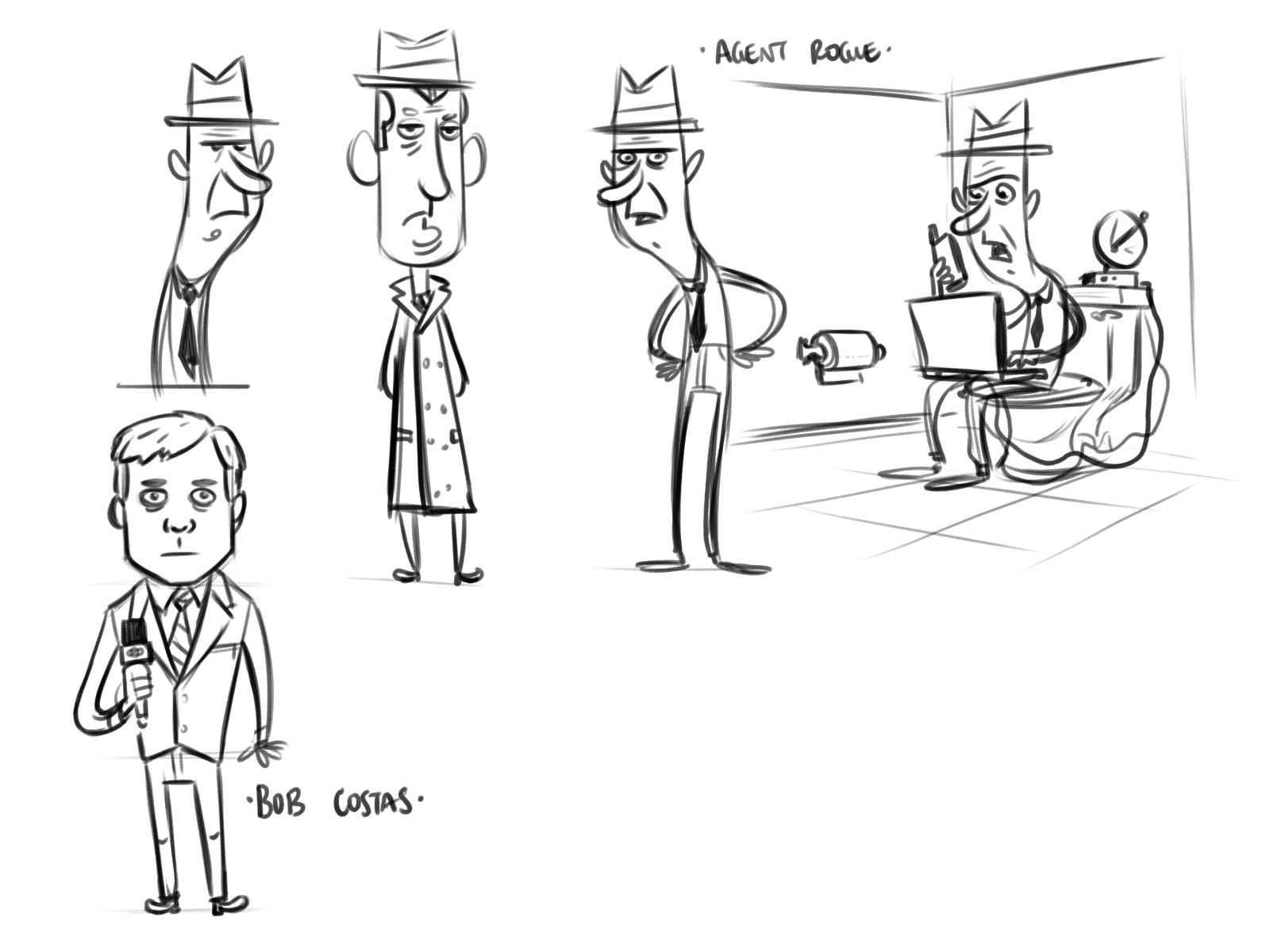 Good Character Design Portfolio : The lowedown official of casey lowe nerds