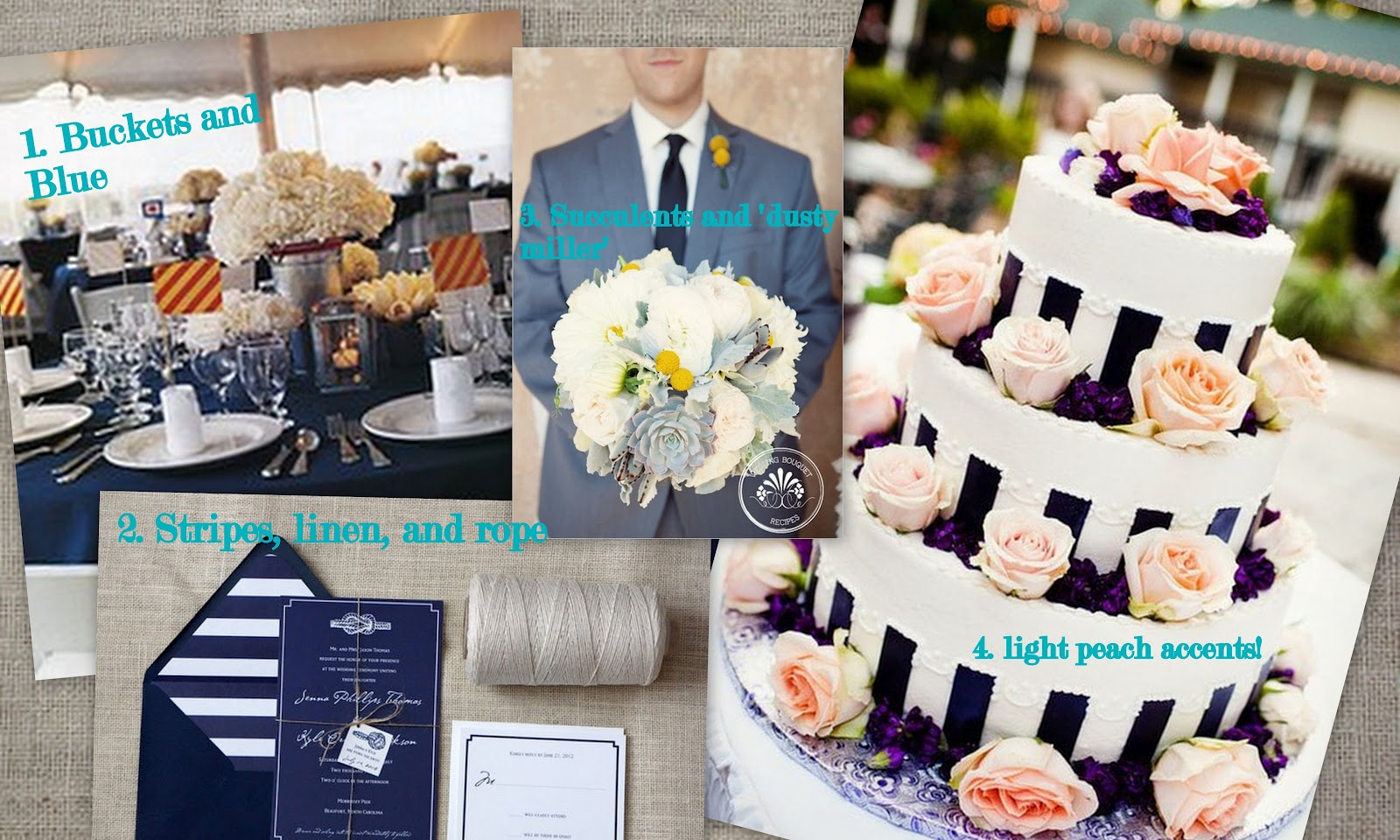A Modern Suburbanites Life: How Pinteresting: Our Wedding Decor Part 1