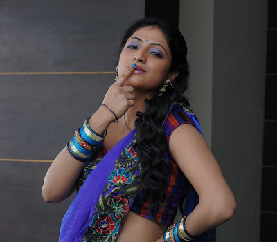 Perfect hot and sexy Hari priya naughty poses in saree
