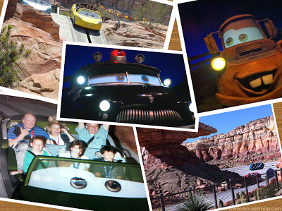 Cars Land Carsland Racers DCA Disney California Adventure