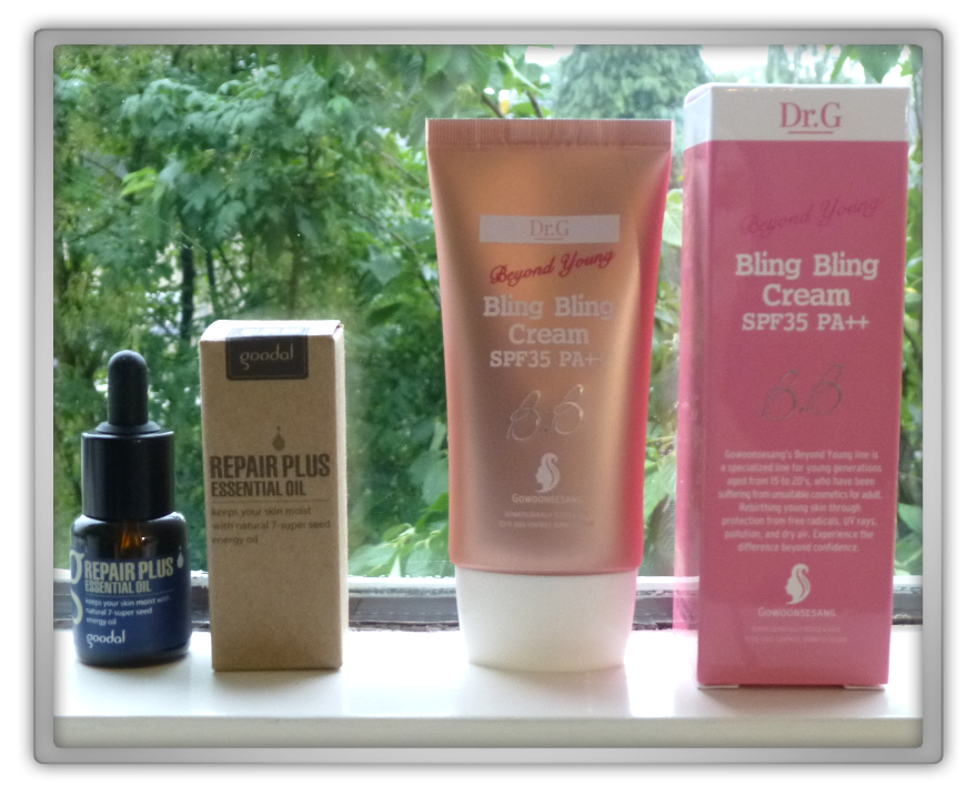 겟잇뷰티박스 by 미미박스 memebox Luckybox beautybox #4 unboxing review preview box Goodal repair plus essential oil Howoonsesang bling bling bb cream