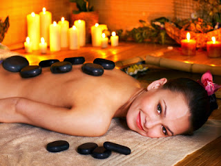 Hot Rocks Lymphatic Massage