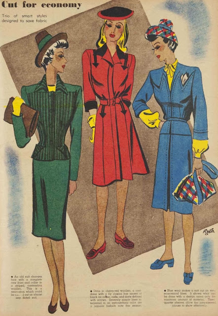 Economy fashion from 1943