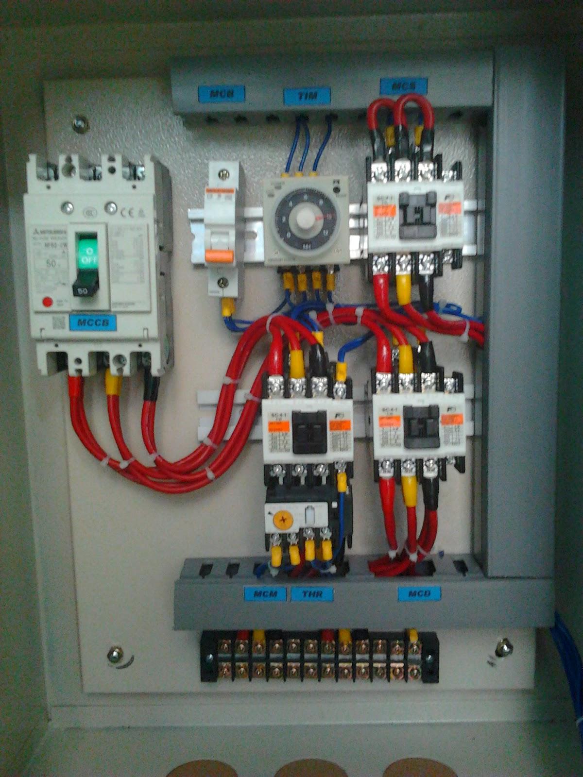 Wiring Diagram Panel Listrik 3 Phase : Cv aldy teknik banjarmasin panel star delta