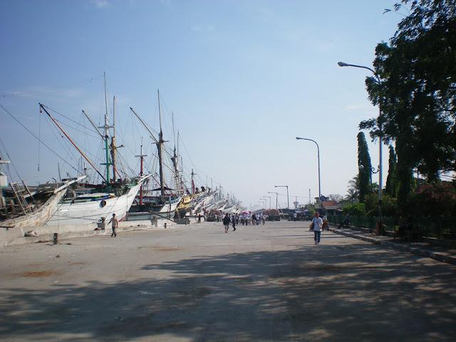 Objek wisata Pelabuhan Sunda Kelapa Jakarta 2