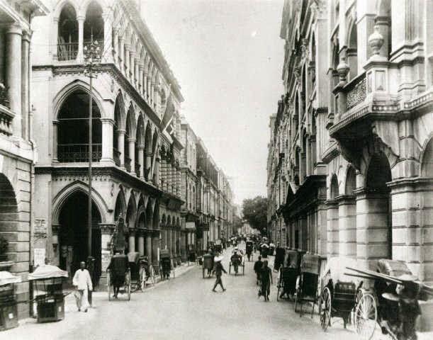 Queens Road - Hong Kong 1900
