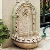 Canine Canteen Outdoor Dog Water Fountain