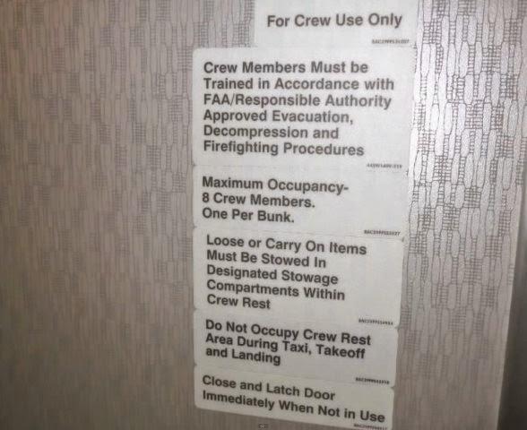 Una habitación secreta en los boeing 777 y 787.