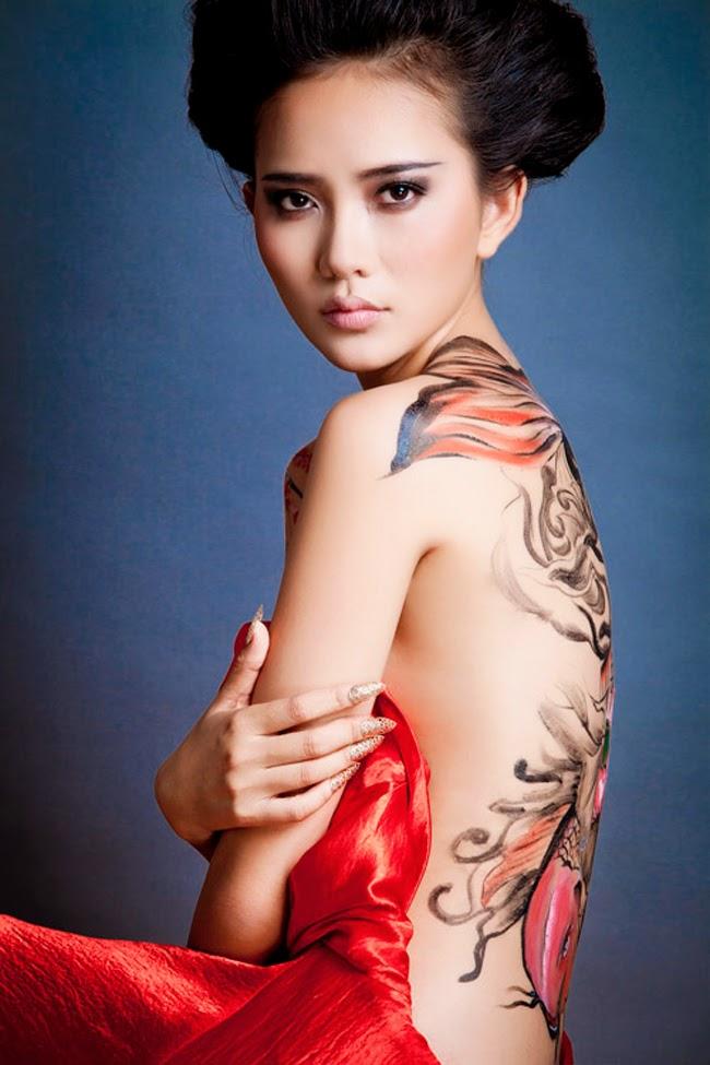 Mỹ nhân Việt hấp dẫn mê hồn khi bán khỏa thân|raw