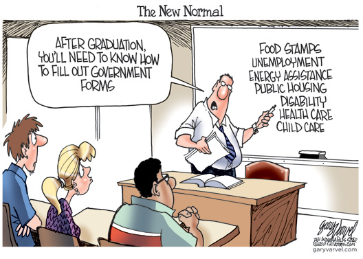 The Biz Of Life Cartoon Of The Day The New Normal