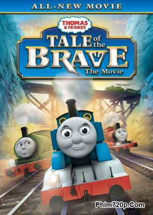 Thomas & Friends: Tale of the Brave 2014 poster