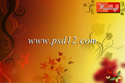 Wedding Album Background (PSD File)