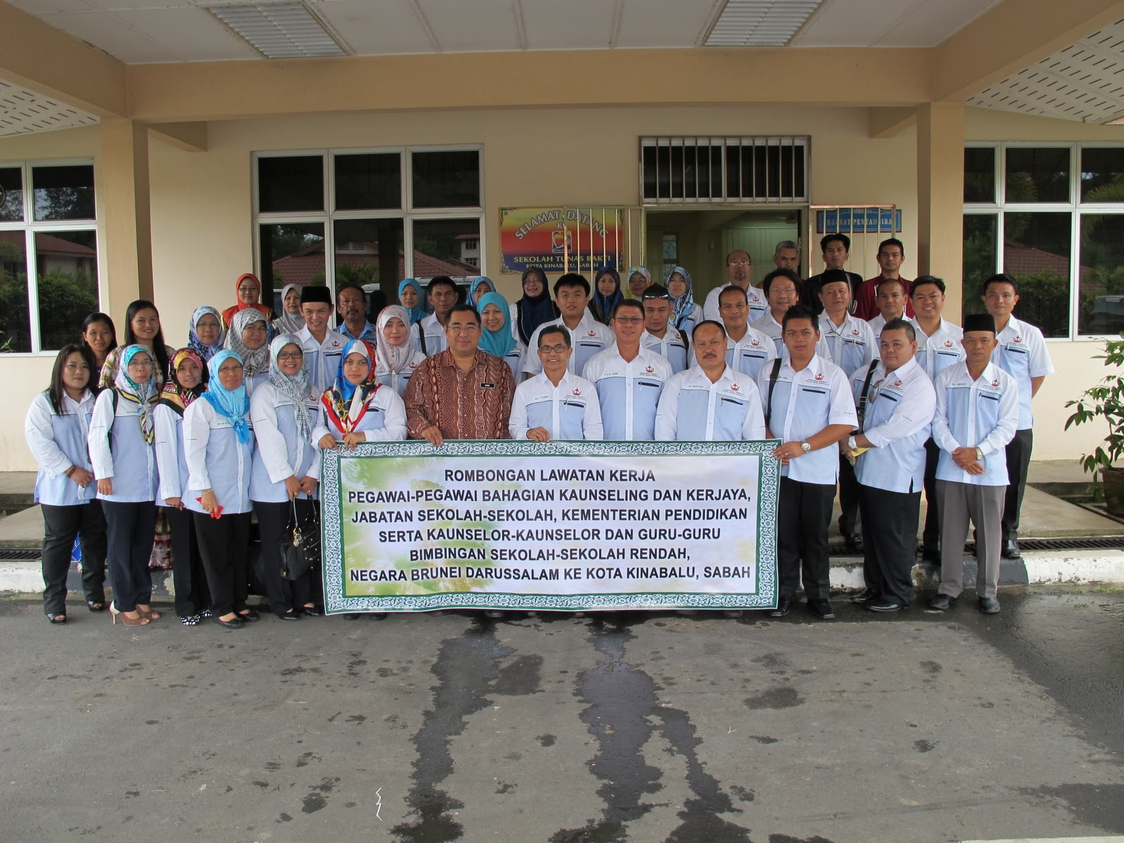 Pendidikan, Negara Brunei Darussalam ke Kota Kinabalu, Sabah, Malaysia