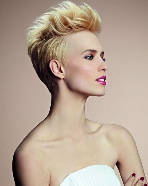 Peinados Con Cresta Para Mujeres - Corte de pelo corto con cresta para mujeres Peinados y Tendencias
