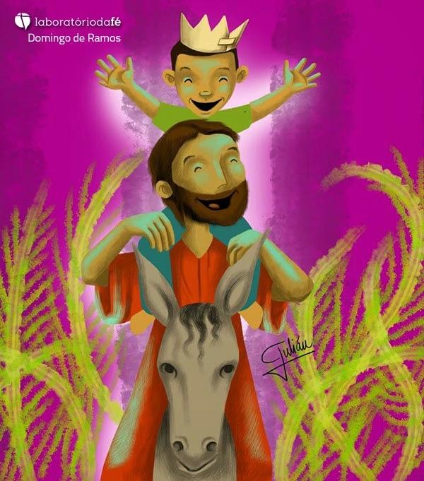 Celebrar o Domingo de Ramos, sexto da Quaresma (Ano A), no Laboratório da fé, 2014