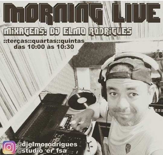#MundoDosDJs - Morning Live