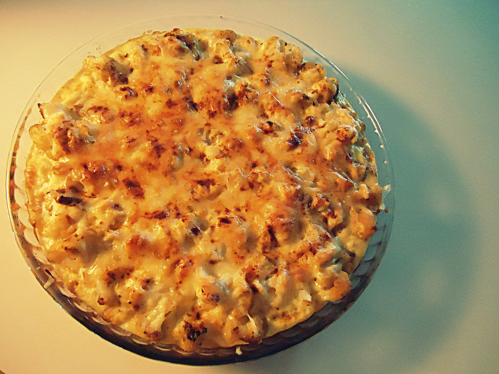 thedirtyovenmitten: Cauliflower Cheese Pie