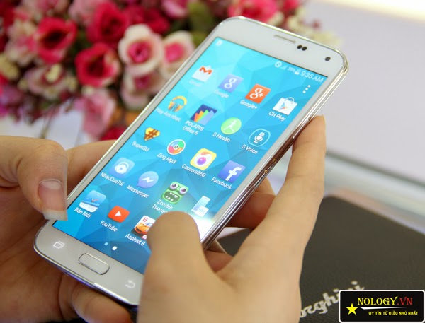 Đánh giá điện thoại Samsung Galaxy S5 Au