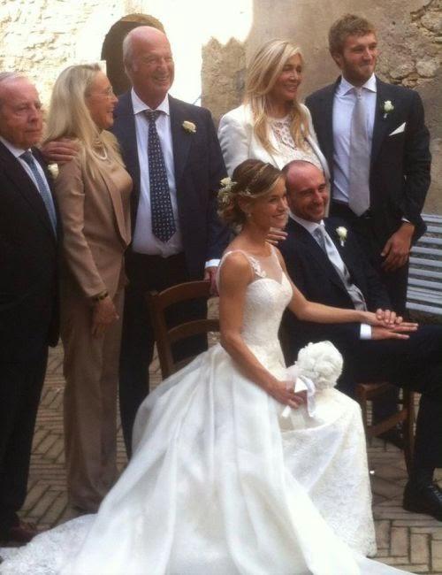 Matrimonio In Ottobre : Oggi sposi matrimonio figlio di eleonora giorgi