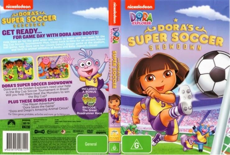 Dora A Aventureira A Grande Partida de Futebol da Dora DVDRip Dublado