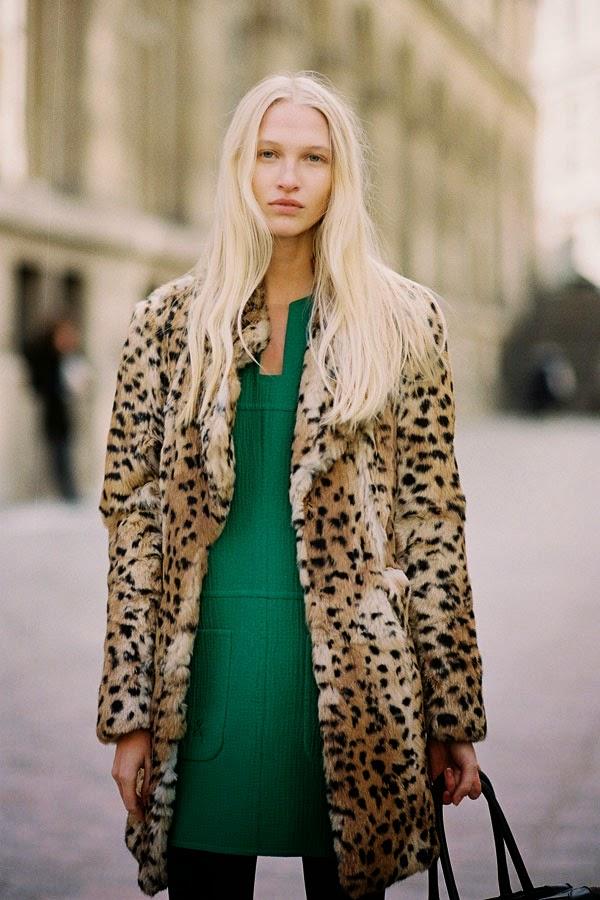 Paris Fashion Week AW 2014....Yulia