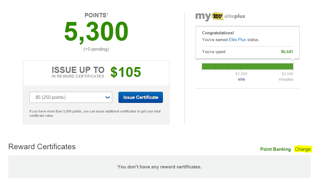Orens Money Saver Earned Elite Status At Best Buy Change Your