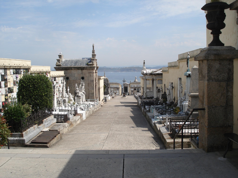 Cemetery of San Amaro (A Coruña, Spain)