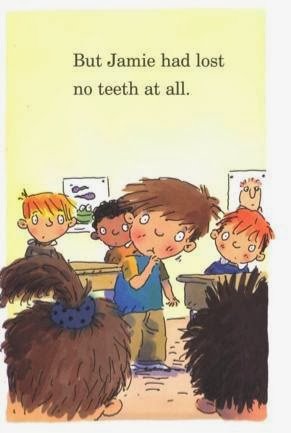 sample page #2 from Tooth Story  (Robin Hill School)  by Margaret McNamara