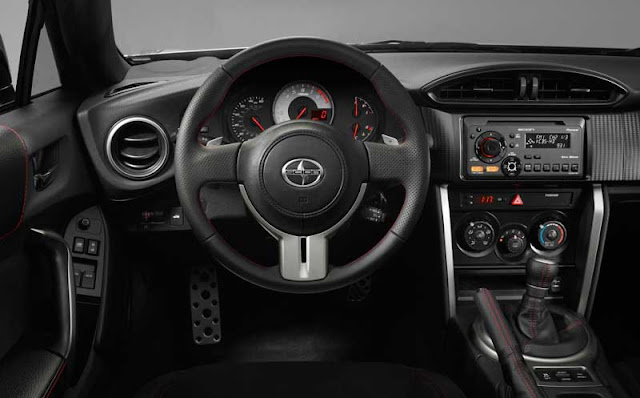 2013 Scion FR-S dashboard - Subcompact Culture