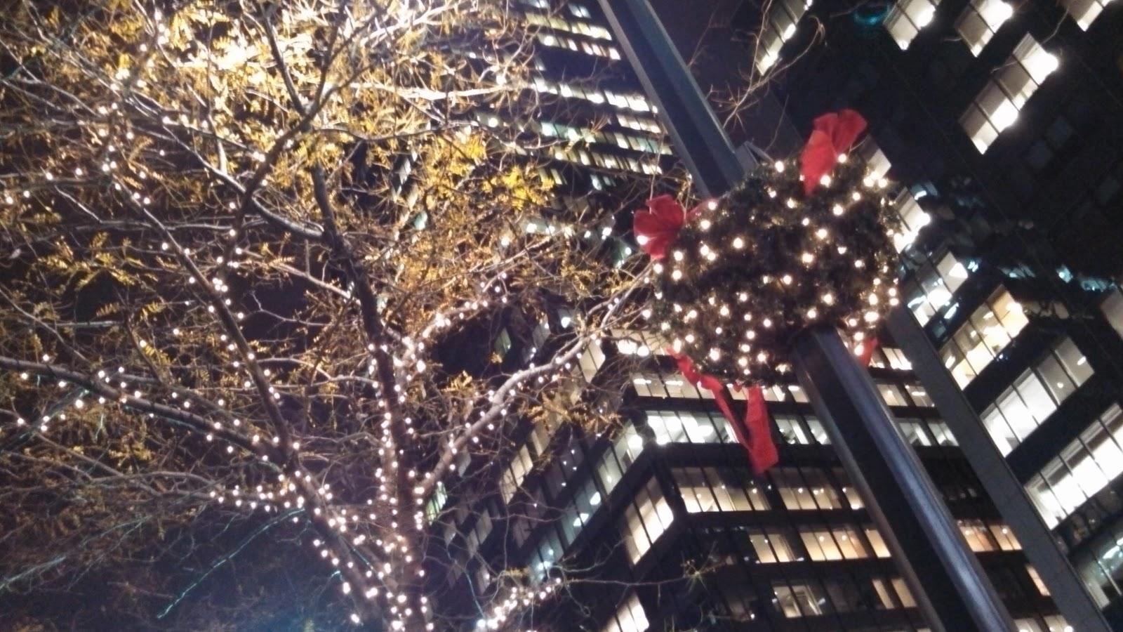 Рождество нью йорк обои 6