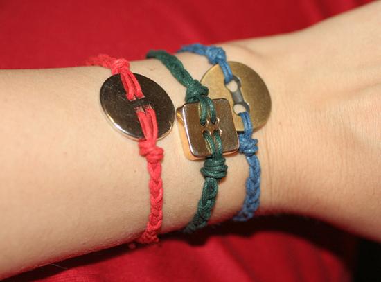 Gelang Kancing - Button Bracelet