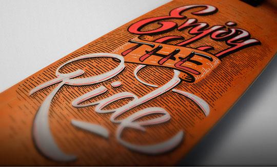 Lettering, caligrafía y diseño de Panco Sassano