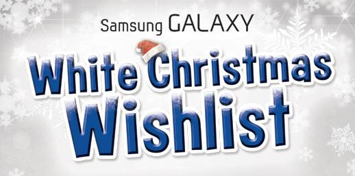 Samsung Galaxy Christmas Wishlist promo: Win Samsung Galaxy smartphones and tablets!