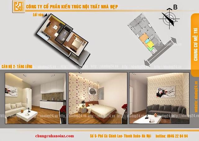 thiết kế chung cư mini mễ trì hạ