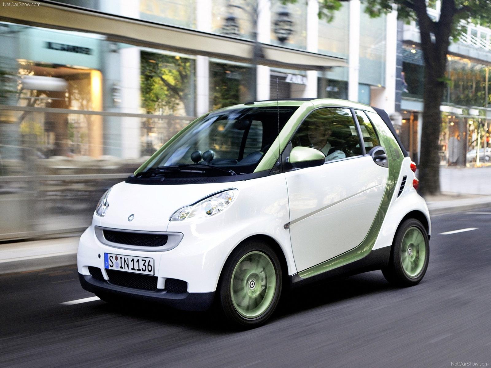 Hình ảnh xe ô tô Smart fortwo electric drive 2010 & nội ngoại thất