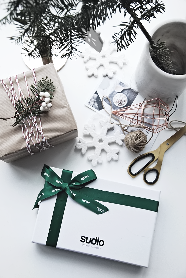 Small Christmas Gift and Wrapping ideas from Sudio Sweden - Only ...