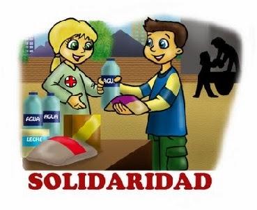 LOS VALORES ÉTICOS Y MORALES: La Solidaridad
