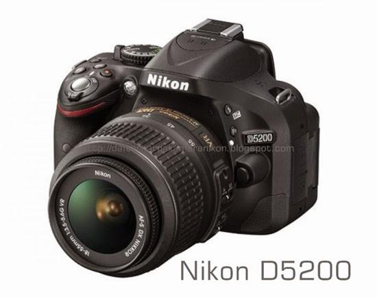 Harga Kamera DSLR Nikon D5200