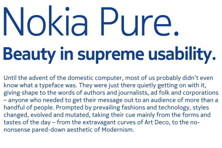 Nokia Pure Font for your N900 | N900 WORLD