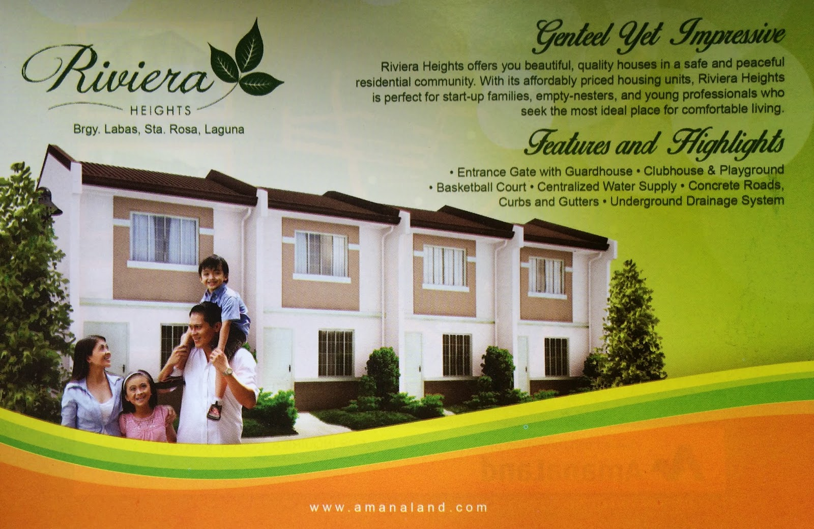 Starosa heights model house