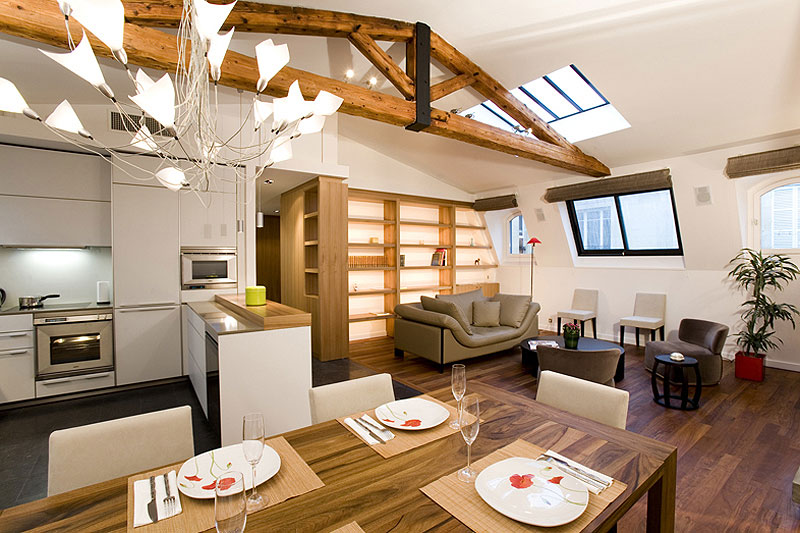 Sala comedor y cocina en un mismo ambiente ideas para for Como disenar un living comedor