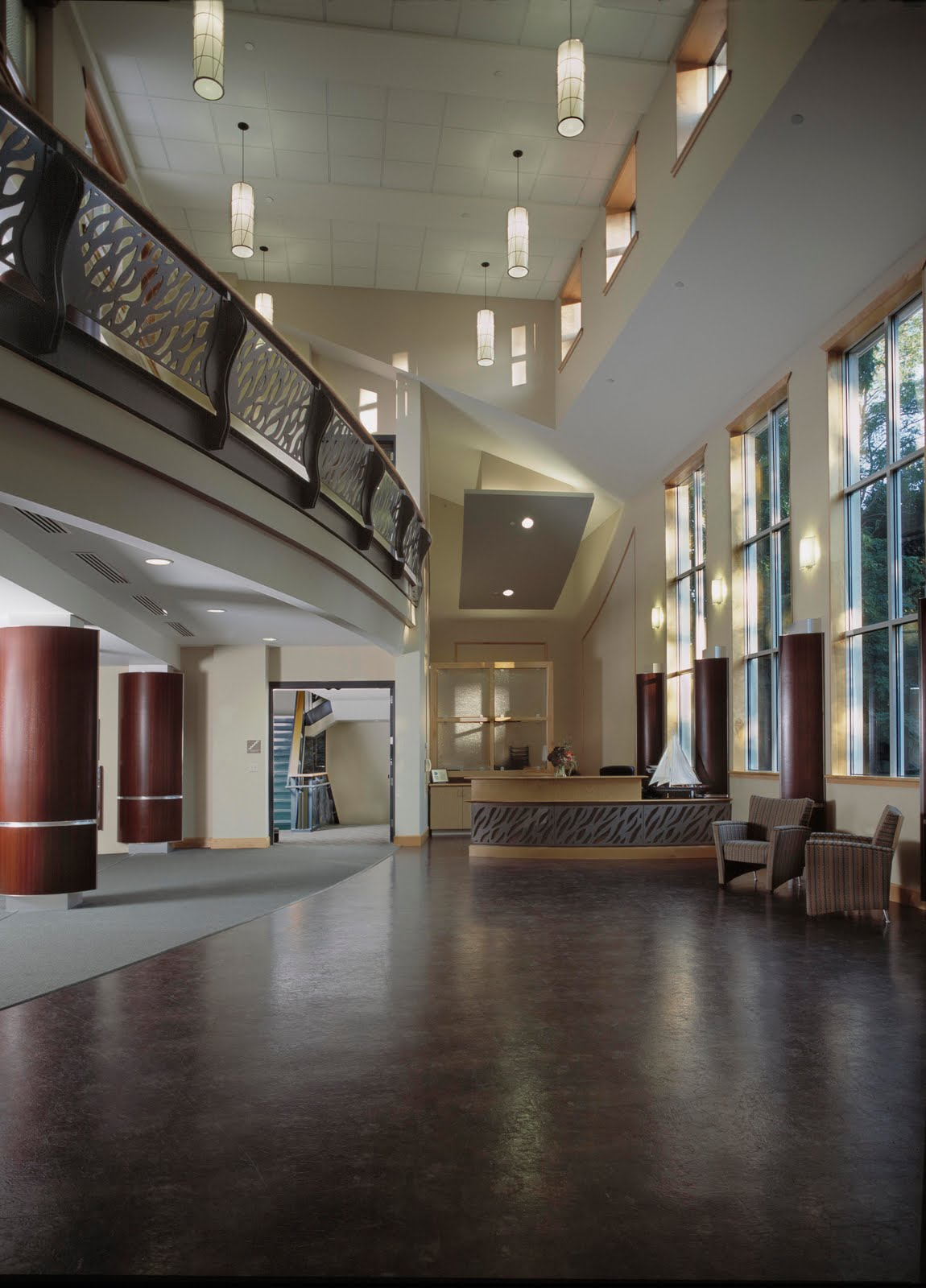 Wylie Inn and Conference Center Atrium Lobby