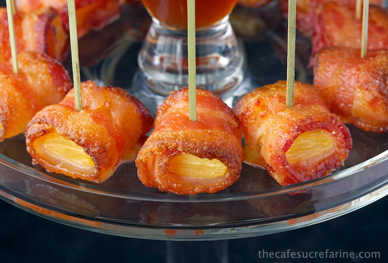 ... bacon donuts recipe bacon wrapped pineapple bacon wrapped pineapple