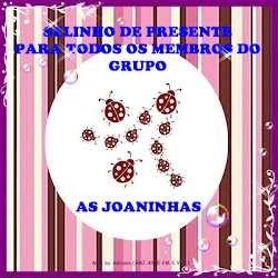 selo do grupo AS JOAINHAS