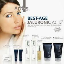 Ardes, cosmetici, acido ialuronico, creme, antiage