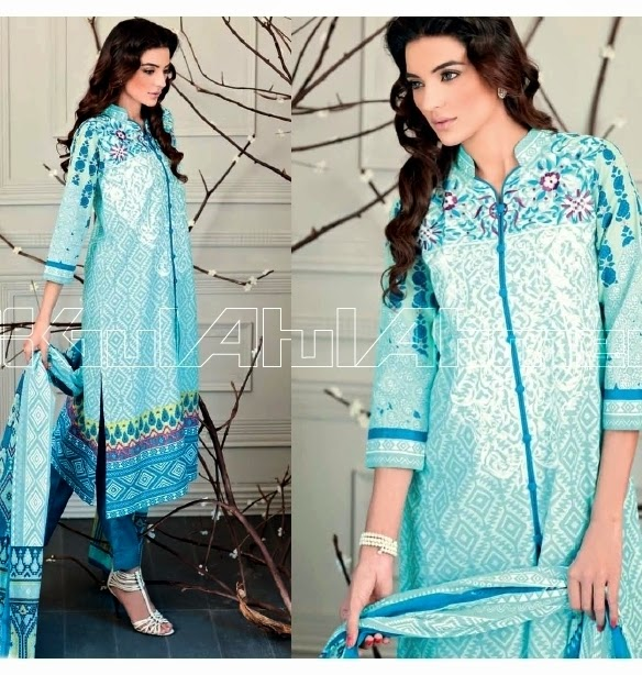Gul Ahmed Festive Pret Eid Collection 2014-2015